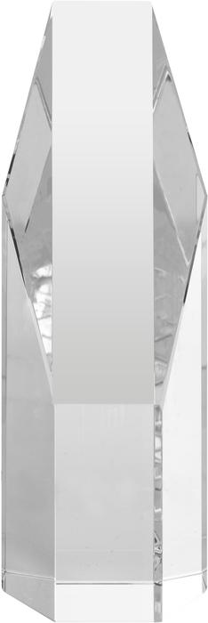 Trofeo de cristal diagonal