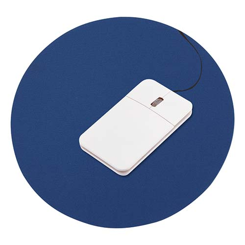 MOUSE PAD REDONDO COLOR AZUL