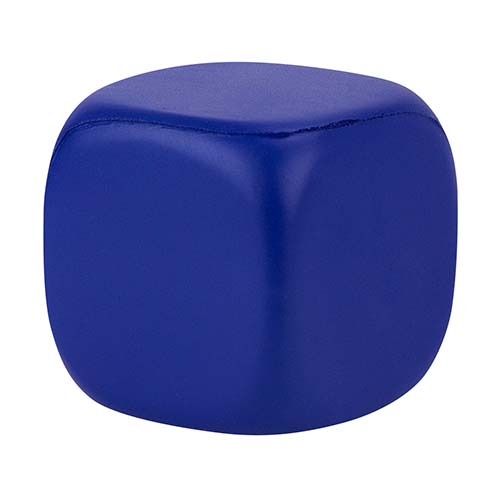 CUBO LISO ANTI-STRESS COLOR AZUL