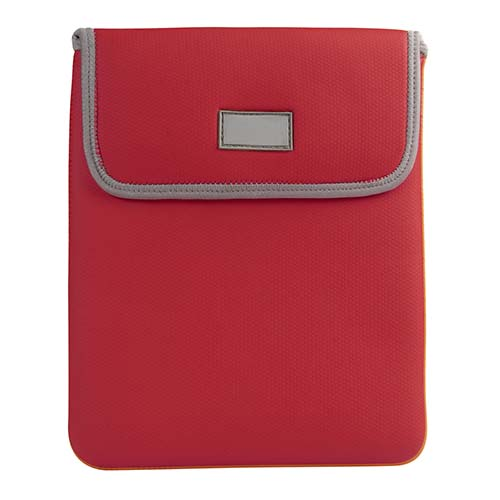 FUNDA PARA TABLET COLETTE COLOR ROJO